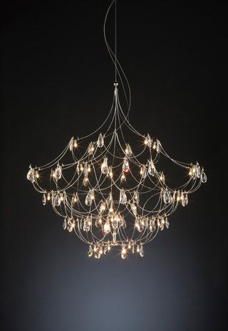 Pin By Wiggles Florence On Jacqui John Lighting Ideas Unusual Lighting Contemporary Chandelier Home Lighting Design