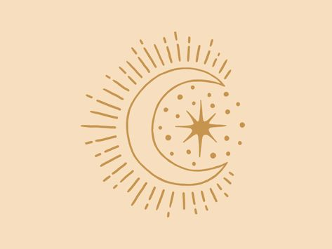 Moon & Star icon - Sun and moon tattoo Compass Tattoo, Hamsa Tattoo, Stars And Moon, Icon Tattoo, Tattoo Sketches, Tattoo Drawings, Geometric Tatto, Orca Tattoo, Grafik Design