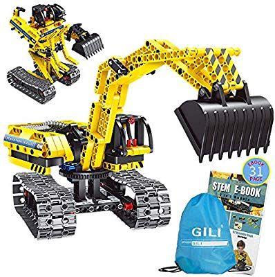 Gili Building Toys Gifts for Boys /& Girls Age 6yr-12yr Construction...