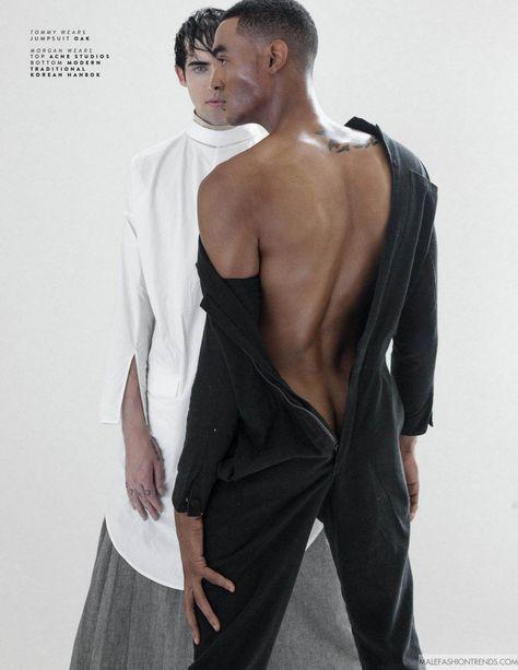 Morgan Perreault y Tommy Bennett para SÝN Magazine Agosto 2016