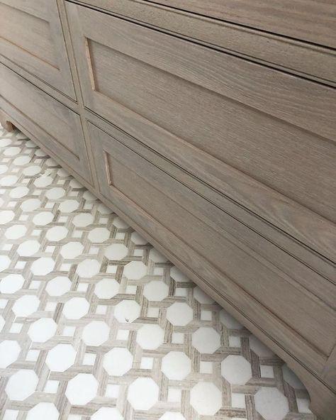 Erin Gates - onyx France lavita tile -  - #woodprojects