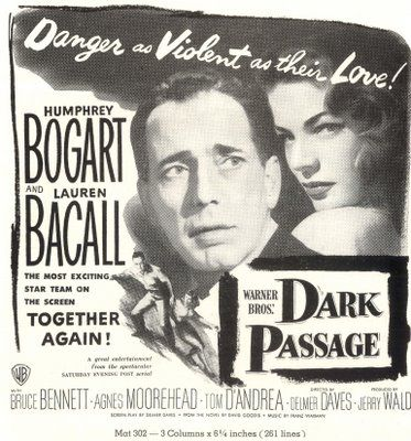 Movie Ad Bogie Bacall Bogart Bacall Agnes Moorehead