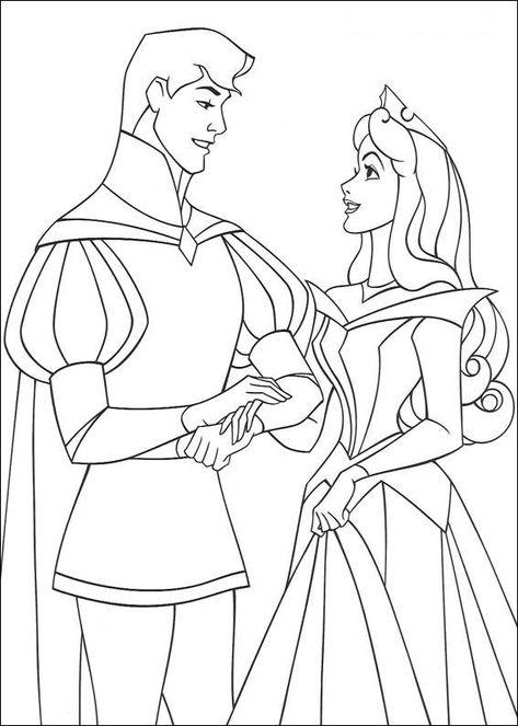 33 Disegni Della Principessa Aurora Da Colorare Principesse