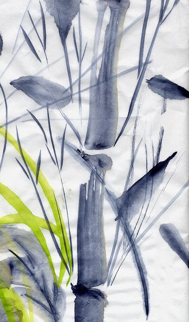 Peinture Chinoise Essai De Bambou C Peinture Chinoise
