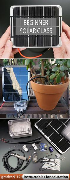In this hands-on beginner class, you'll learn fun ways to harness solar energy in your own backyard, then level up to soldering solar powered electronics projects. #education