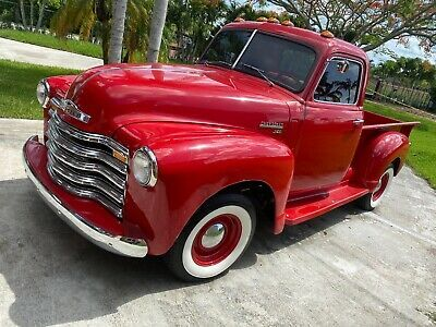 For Sale 1950 Chevrolet Chevy 1950 Chevy Truck 3100 Under 100 Miles After Restoration 3 Speed Manual Trans Cape Verde Islands Verde Island Chevrolet