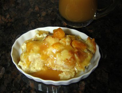 Moist And Delicious Peach Bread Pudding Recipe Peach Bread Bread Pudding Recipe Peach Recipe