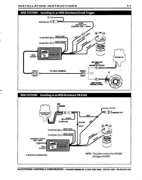 Msd Crank Trigger Ignition Wiring Diagram