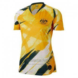 venta directa de fábrica nueva selección fotos oficiales Camiseta Australia Primera Mujer 2019 - Copa Mundial ...