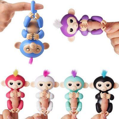Fingerlings Monkey Toys Interactive Baby Monkey Coole Geschenke
