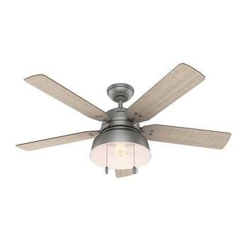 52 Ocala 4 Blade Led Standard Ceiling Fan With Pull Chain And