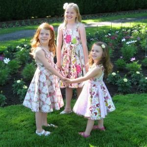 Download Girls Super Twirl Pinafore Style Dress Sewing Pattern | What's New | YouCanMakeThis.com