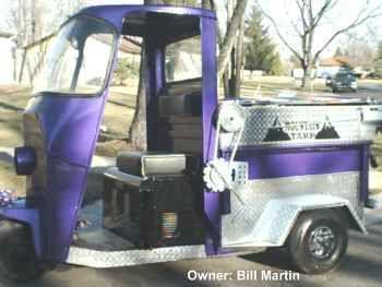 Trucksters Mail Truck Golf Carts Piaggio