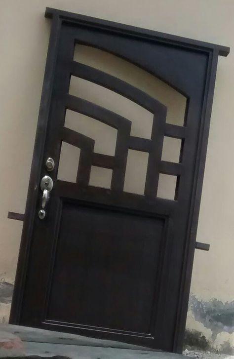 Puerta principal herreria