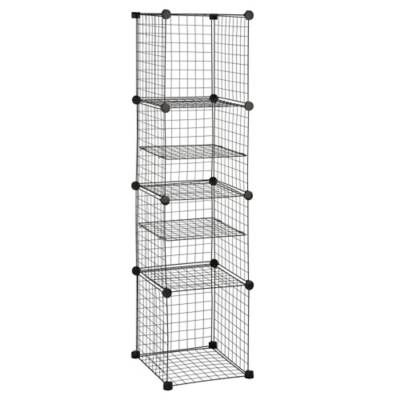 Product Image For Grid Wire Modular Shelving And Storage Cubes 2