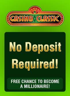 Casino Classic Is Offering All New Real Cash Players 1 Free