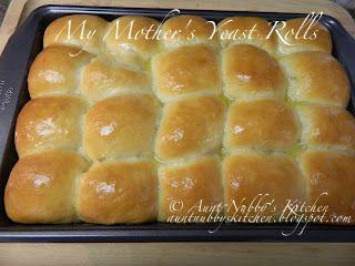 My Mother S Yeast Rolls Homemade Yeast Rolls Recipes Best