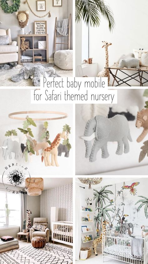 Jungle Theme Nursery, Baby Nursery Decor, Nursery Furniture, Nursery Neutral, Baby Decor, Safari Room Decor, Jungle Baby Room, Nature Themed Nursery, Safari Bedroom
