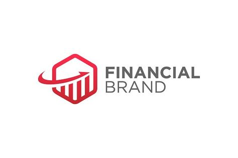 Hexagonal Finance Business by Toko Pak Sabar on @creativemarket