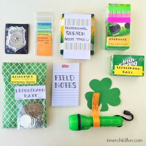 Give them a kit to catch leprechauns - Fun St. Patrick's Day Traditions for Kids - Photos