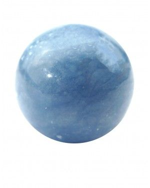 Angelite Sphere Energy Crystals Stones And Crystals Crystals And Gemstones