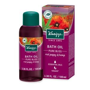 Kneipp Pure Bliss Bath Oil Natural Oils Pure Products Red Poppies