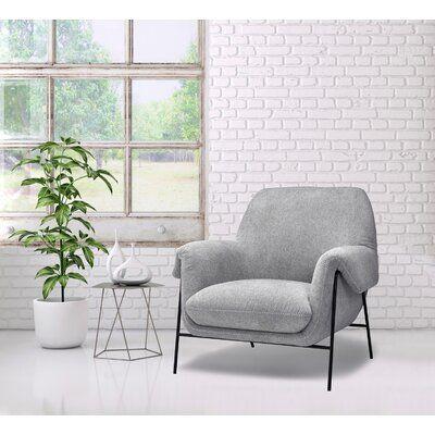 Brayden Studio Schulze Armchair In 2020 Armchair Furniture Home Decor