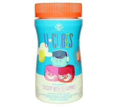Solgar U Cubes Detskie Zhevatelnye Vitaminy Kalcij S Vitaminom D3 60 Zhevatelnyh Zhelejnyh Konfet Pink Lemonade Gummies Pink Lemonade Blueberry