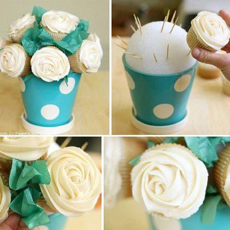 Decoraçao para cupcakes