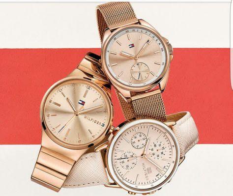 0ac9533eb5c Relógio Tommy Hilfiger Feminino Aço Rosé - 1781799