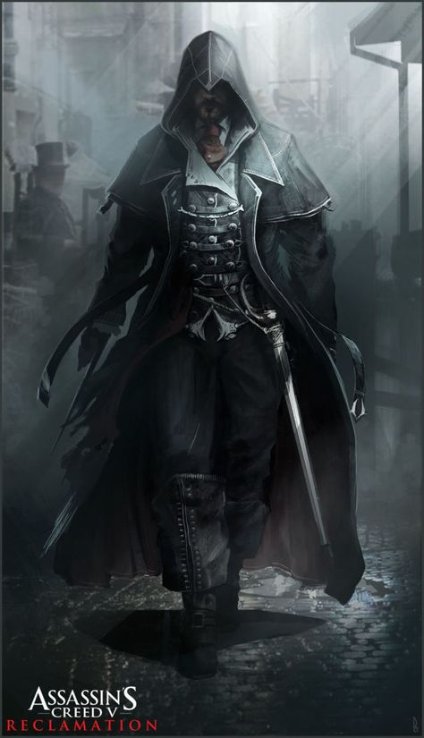 Concept Art For An Assassin's Creed Set In Victorian London