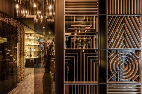 New Brand Identity For Hato By Allink Bp O Restaurant Design Partition Design Glass Partition Designs