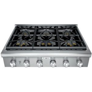 Thermador Tpcg366w Professional Series Rangetop In Stainless