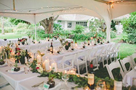 Tented Backyard Reception Photo By Shari And Mike Photographers Http Ruffledblog Canadian Garden Wedding At Starling Lane Vineyard Pinterest