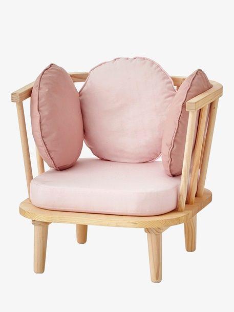 Retro-Sessel für Kinderzimmer - rosa - 1 | Kinderzimmer ...