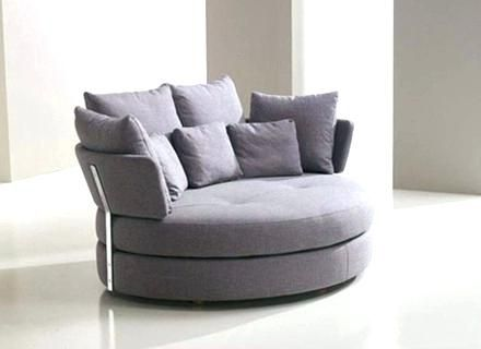 Round Loveseat Sofa Home Interior Design Ideas Couch And