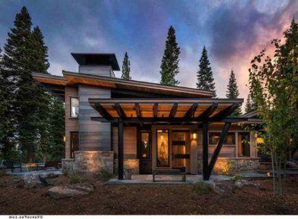 42 Best Ideas House Exterior Modern Small Floor Plans Mountain House Plans Mountain Home Exterior Modern Mountain Home