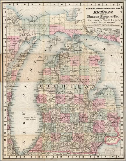 Pin On Map Of Michigan