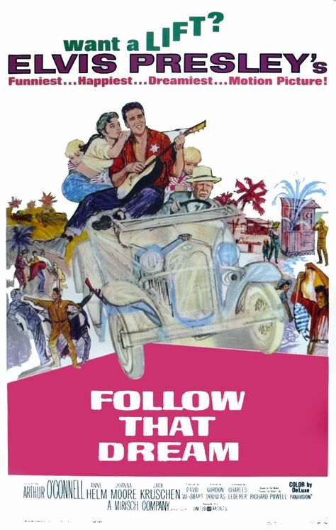 ELVIS PRESLEY in the Movies 1962 8x10 Photo FOLLOW THAT DREAM Weeki Wachee 02