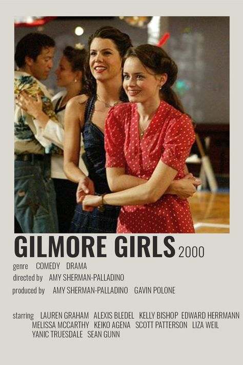 Gilmore Girls poster by cari