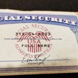 Social Security Card 03 Ssn Download In 2021 Social Security Card Money Template Social