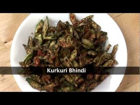 Bharwan Bhindi (stuffed okra) video
