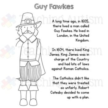 Guy Fawkes Reading Comprehension Passages and Questions | London ...