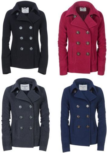A classic wool pea coat- especially in navy - would be such a great staple