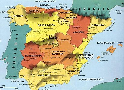 Geography of spain ,regions of spain, spain maps, places in ...