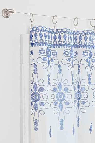 Strum Cable Curtain Rod Curtains Curtain Rods Curtain Decor
