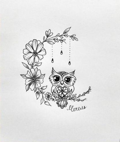 Art Du Hibou Idees De Tatouage Hibou Tattoo Avec Images