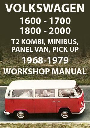 Volkswagen Type 2 1968 1979 Workshop Manual Volkswagen Transporter Volkswagen Type 2 Volkswagen