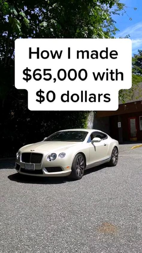 💸How to make $65,000 out of $0!💸 (Cr: @realestate_university)