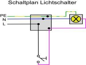 Schaltplan Lichtschalter Ausschaltung Anschliessen Anschliessen Ausschaltung Electronic Lichtschalter Schaltplan Circuit Diagram Light Switch Ac Circuit